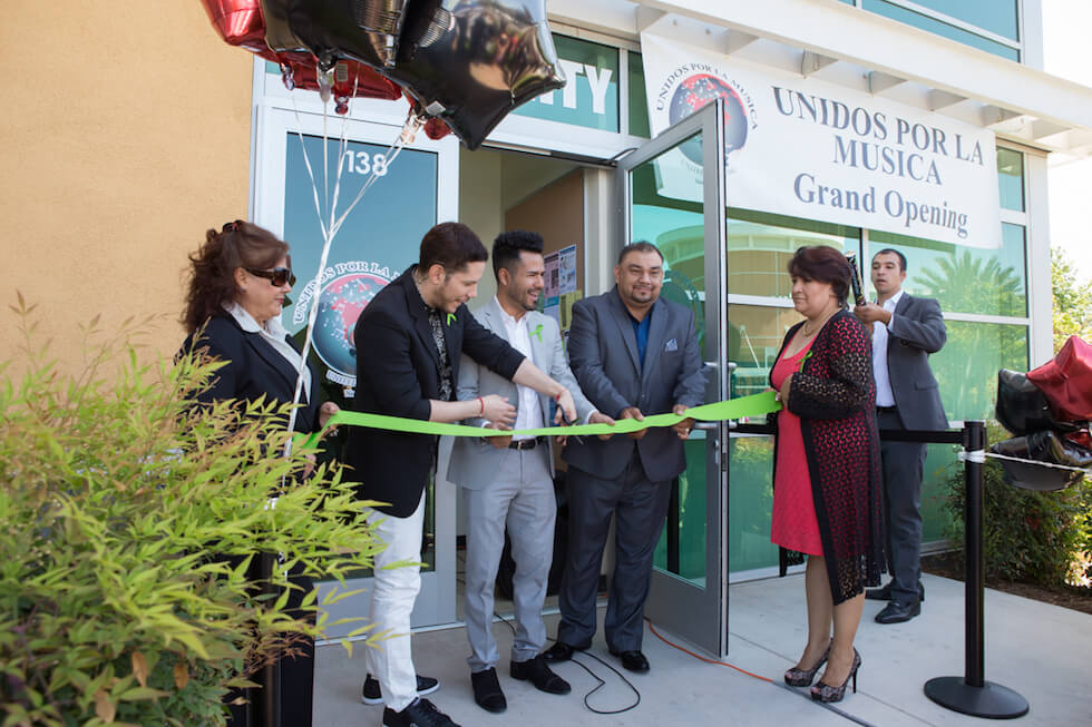 Grand Opening of the Unidos Por La Musica Community Resource Center